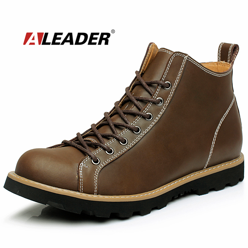 Aliexpress.com : Buy Fashion Mens Leather Boots Autumn ...