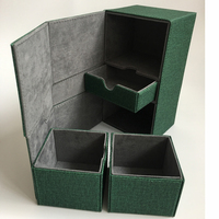 Board Game Deck box for Trading cards Storage, Board game cards case card box/container Cards Deck Box Deck case: Blue, Green