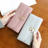Lady Bei Bei Women Famous Brand Designer Long Wallet Coin Purse Fashion High Capacity Female Card