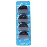Kemei 4 Stks Vervanging Trimmer Gids Kam Attachment Voor Elektrische Tondeuse Scheerapparaat Tool