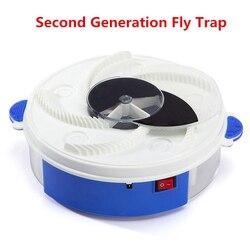 Usb voar armadilha elétrica flycatcher dispositivo de pragas inseto mosquito apanhador voar armadilha escova + mosca isca + usb voar armadilha com luz violeta