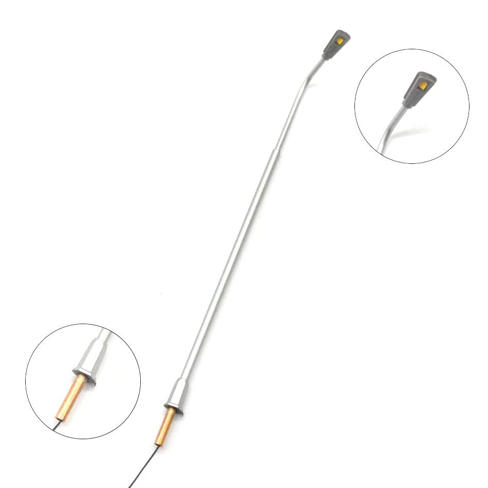Teraysun, venta al por mayor, modelo de escala de luces de cobre de calle iluminada arquitectónica 1:100 para maqueta de trenes-in Kits de construcción de maquetas from Juguetes y pasatiempos    1