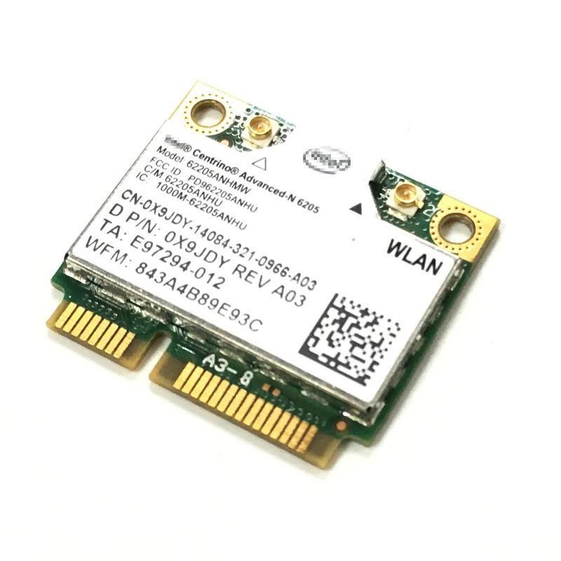 Image 2 - Intel Wireless N 6205 62205ANHMW 300Mbps Mini PCI E 2.4G+5G WIFI wireless network card HP EliteBook 8470p 8770W SPS 695915 001-in Network Cards from Computer & Office