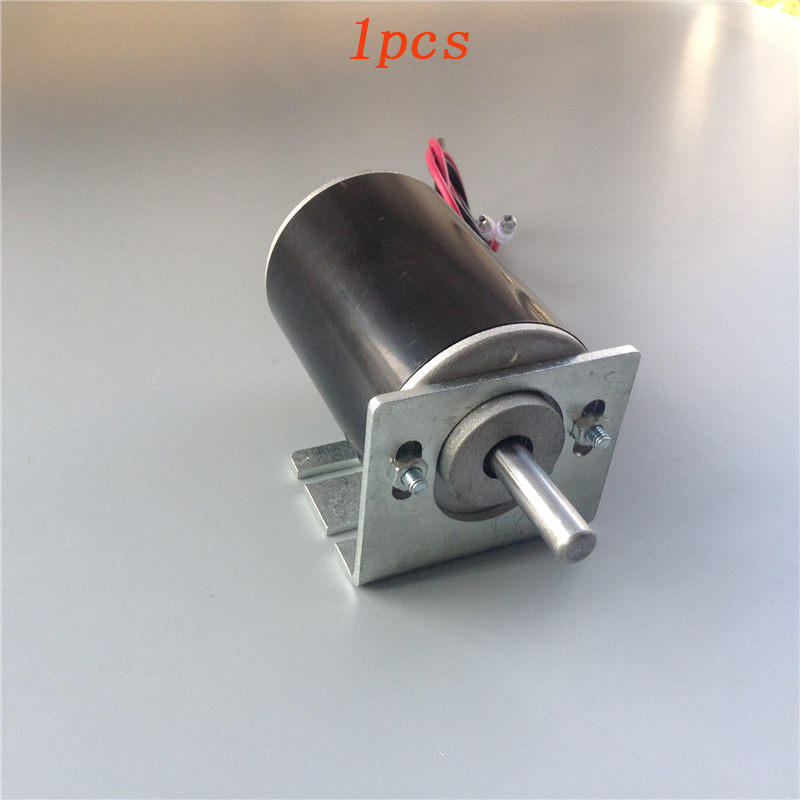 1pcs 12V Permanent Magnet DC Motor 3500RPM 30W Brushed Motor Low Power Large Torque for RC Bait Boat w/Length 1 1.5 Meter