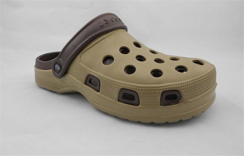 New Arrival Men Garden Shoes EVA Beach Slippers For Men Breathable Anti-slip Bottom Summer Shoes HSA20  (8)