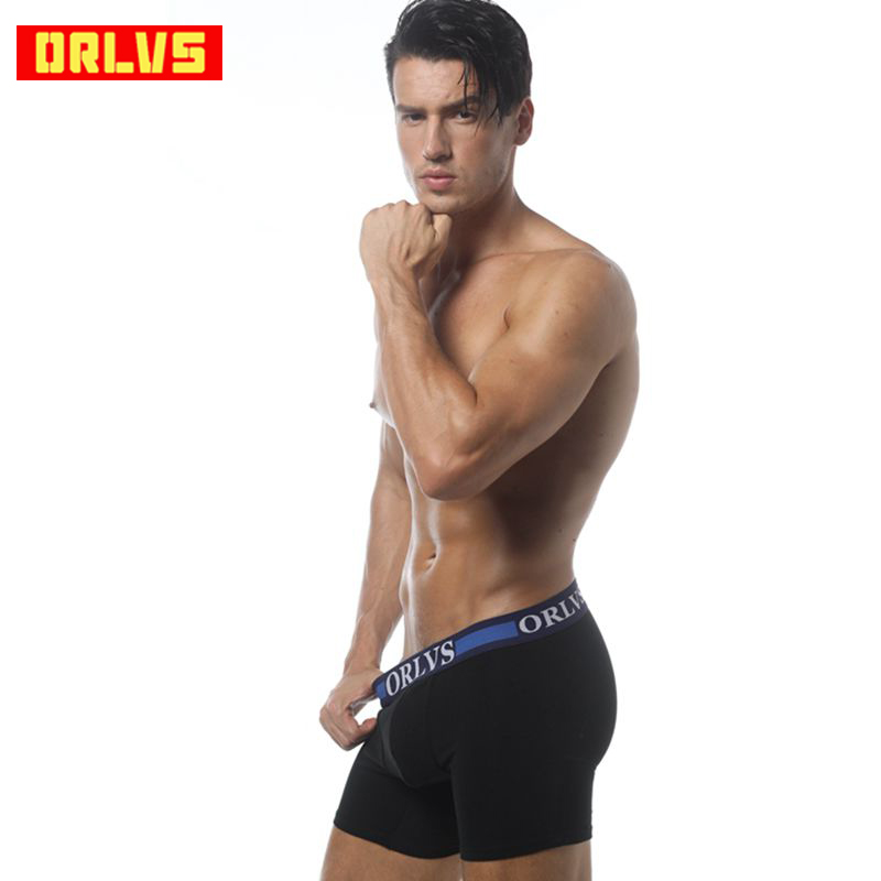 Brand Underpants for Men Soft Cotton Boxers Mens Underwear Gay Sexy Plus Size Comfortable Male Underwear Trunks Homme OR120(China)