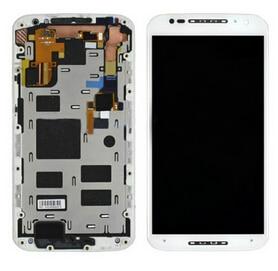 White For Motorola Moto X2 X+1 XT1092 XT1095 XT1096 XT1097 2nd 2014 LCD Display+Touch screen digitizer+frame Assembly