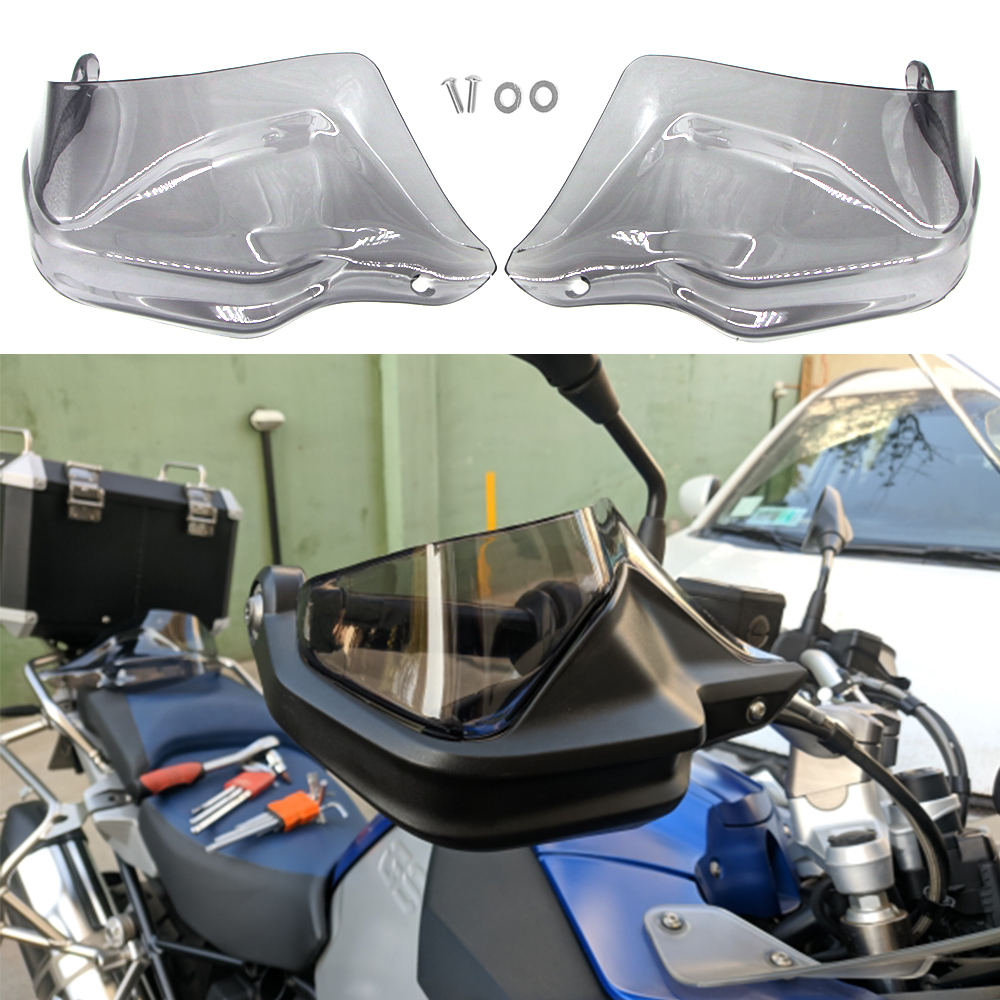 For BMW R1250GS/ADV LC R1200GS LC F850GS F800GS Adventure S1000XR F750GS ADV Handguard Hand shield Guard Protector Windshield(China)