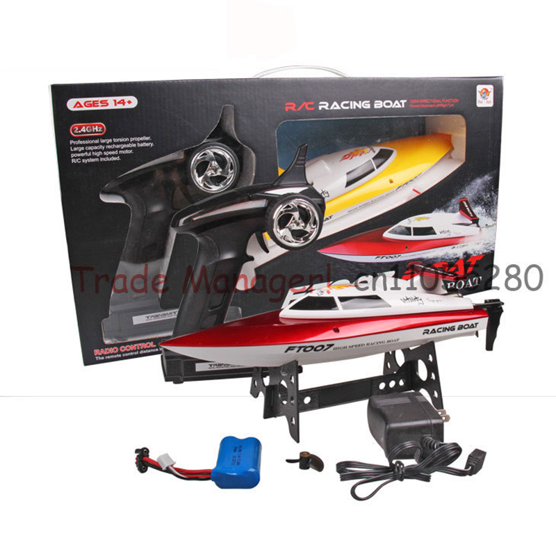 все цены на  New Listing new high-speed rc boat 007 Summer Gifts toys rc boats rc toy 4ch 2.4g Frequency remote control toys RC boats  онлайн