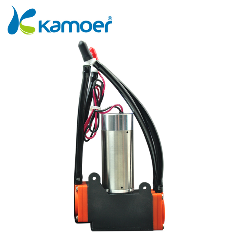 Kamoer KVP8 12V dc diaphragm vacuum pump with brushless motor micro electric diaphragm air pumps kamoer kvp8 24v mini vacuum pump brushless micro diaphragm pump electric air pump with high nagative pressure vacuum degree