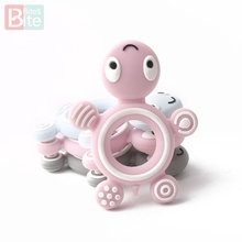 Bite Bites BPA 1PC Tortoise Shaped Free Silicone Beads DIY Baby Necklace Accesso