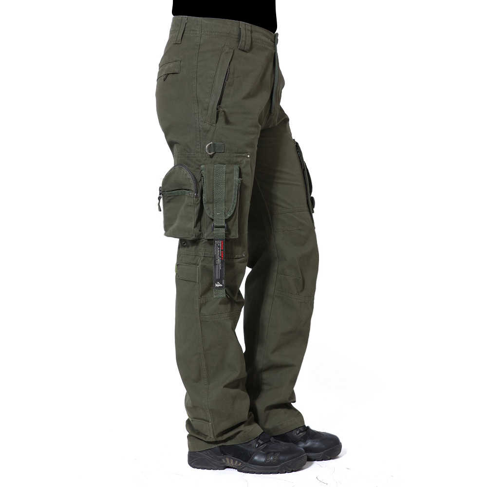 f3bb4708ecd6 MAGCOMSEN Cargo Pants Men Men s Military Tactical Pants Male US Combat  Multi-Pockets Army Trousers