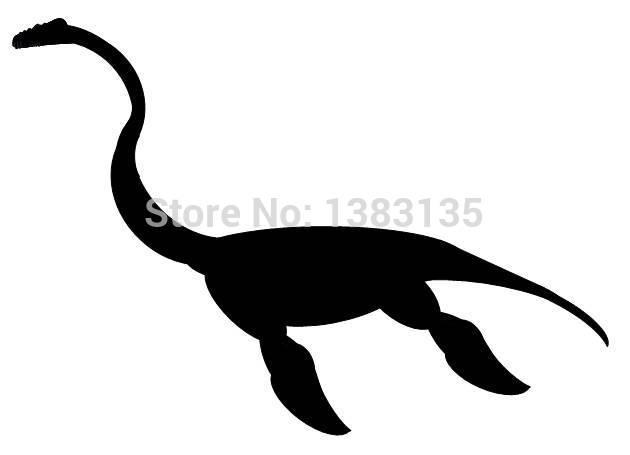 Wholesale 50 pcs/lot Loch Ness Monster Novelty Car Sticker For Truck Window Bumper SUV Door Laptop Kayak Vinyl Decal 8 Colors