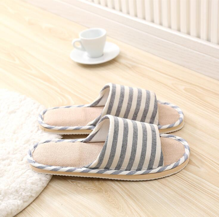 2019 Men Slippers TX343 351 Slippers Khaki Blue Cotton Slippers For Men Shoes High Quality Home