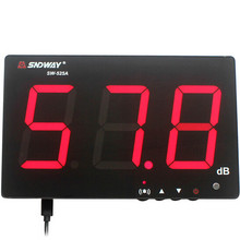 SNDWAY Digital Sound Level Meter 30~130db Large Screen Display Restaurant Bar Indoor/office/home Wall Hanging Noise