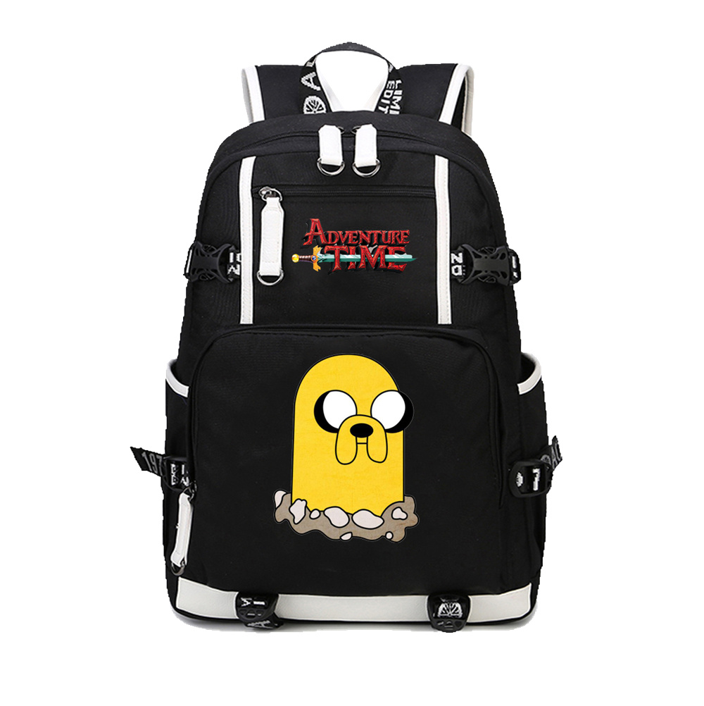2018 Hot anime Adventure Time Finn and Jake backpack Teenage Girl Backpacks Student School Bag Laptop Bags men women travel bag 2018 new men 1000d nylon waterproof military cross body shoulder messenger waist bag cross body pack