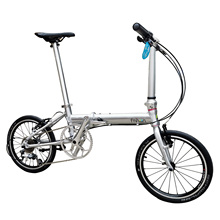 Bicycle Bikes Folding-Bike Velo Fnhon Mini Urban 9-Speed Zephyr with V-Brake 16-349 Commuter