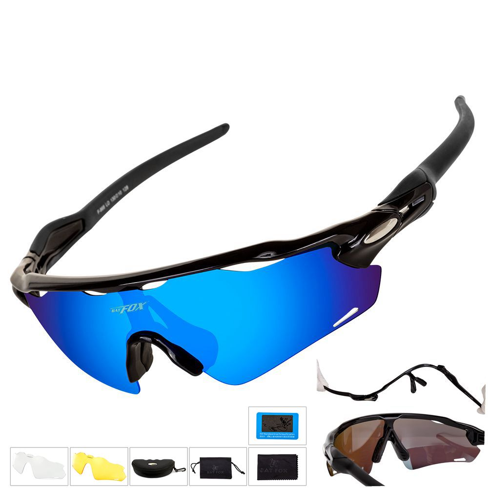 BATFOX Photochromic Cycling Glasses Men Women Sports MTB Mountain Road Bike Bicycle uv400 sport  Cycling Sunglasses Eyewear