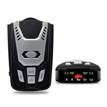 Luturadar Car radar detector 16 full band anti police laser speed gun radar with 360 degree radar signal English/Russian voice