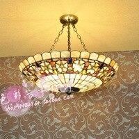 30 см 60 см Европейский сад спальня гостиная den оболочки освещение лампы висит 23 камелии бисер