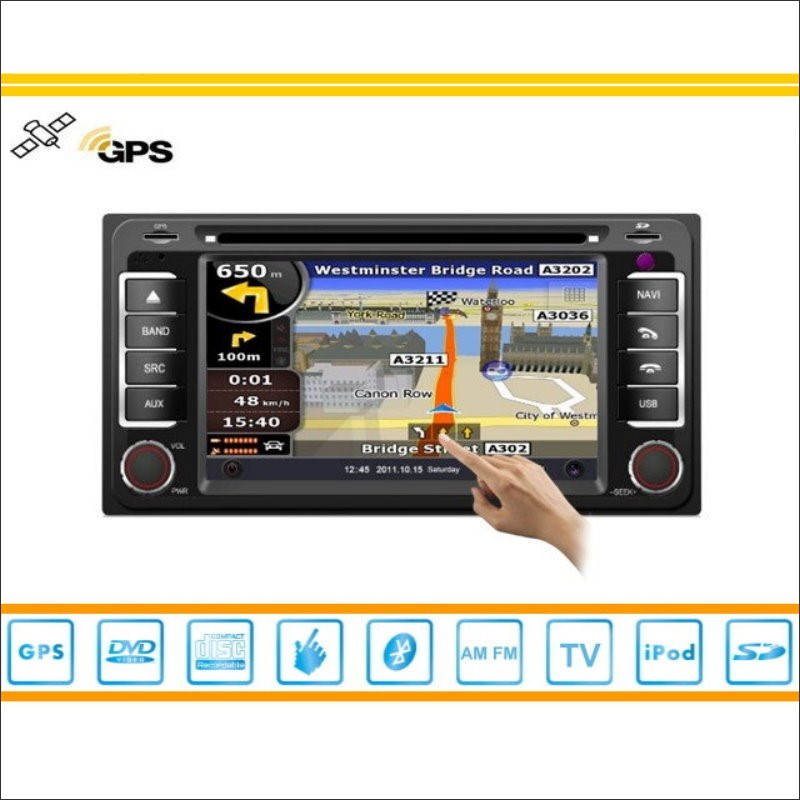 Para Toyota HiAce 2004 ~ 2013 Coches Reproductor de DVD GPS Navi Mapa de Navegac