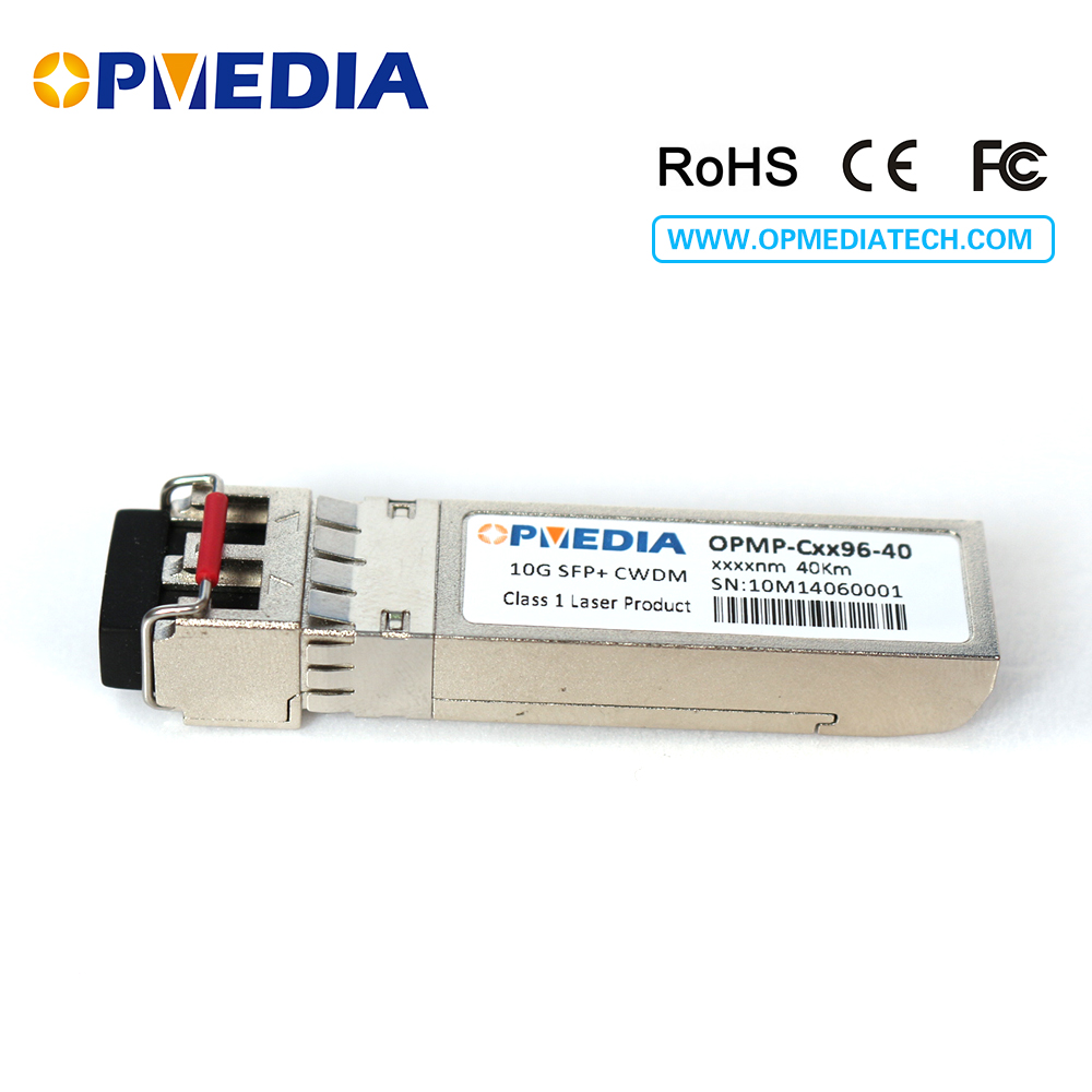 IBM compatible 10GBASE-ER CWDM SFP+ transceiver, 10G 40KM 1470~1610nm SFP+ optical module ,LC connector,DDM functionIBM compatible 10GBASE-ER CWDM SFP+ transceiver, 10G 40KM 1470~1610nm SFP+ optical module ,LC connector,DDM function