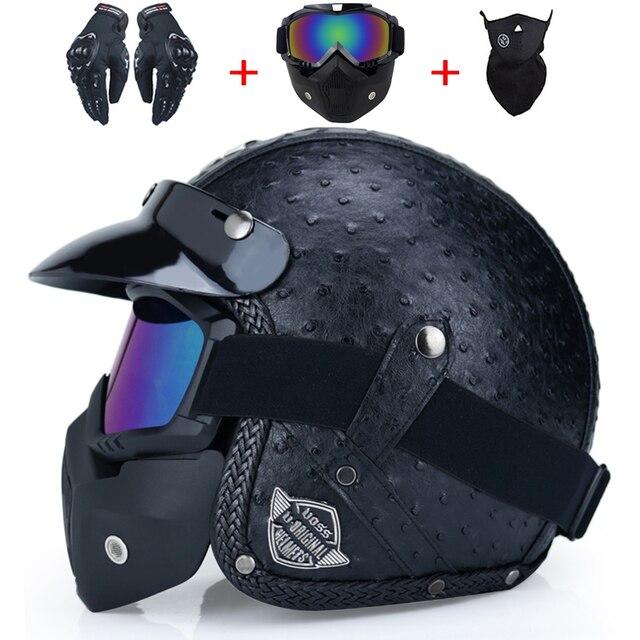 Retro Motorcycle Helmet 2