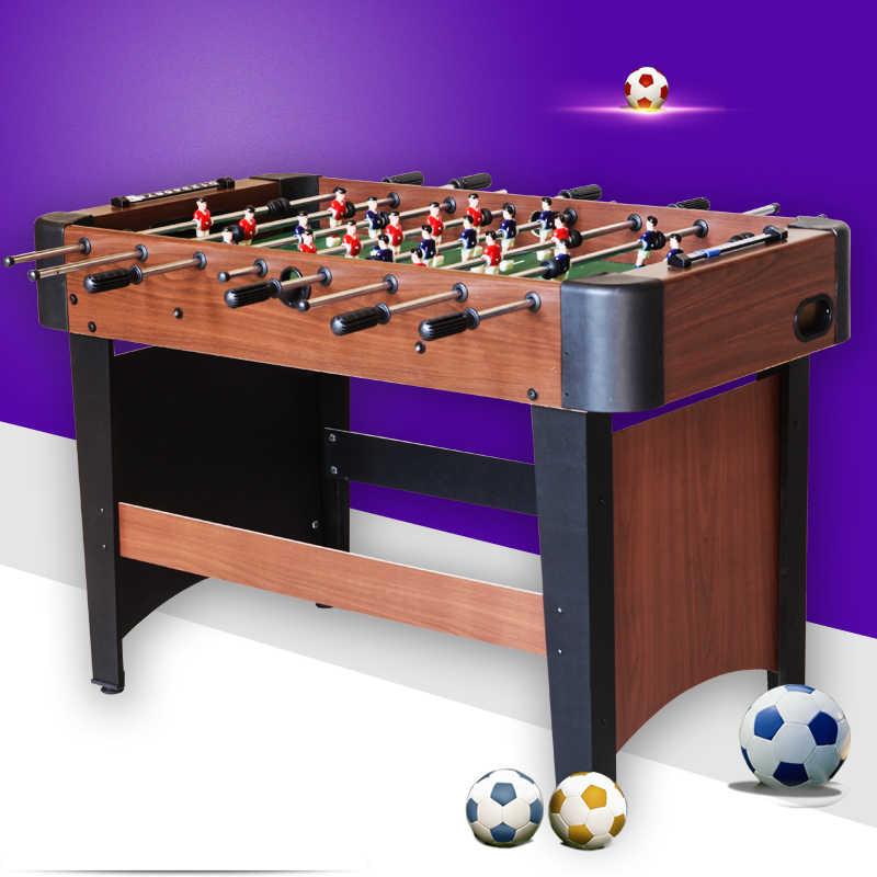Прямая продажа Американский 4 узора восемь бар Настольный футбол фирменные деревянные Стальные Футбольные настольные игры подарки футбольный стол вечерние PK игры