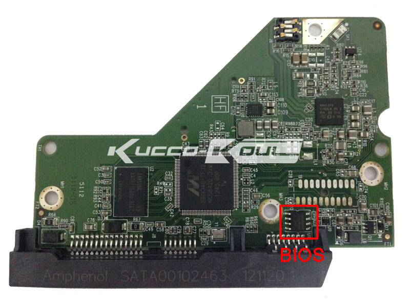 HDD PCB logic board…