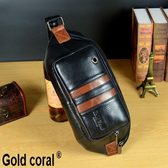 Cuero genuino nuevos paquetes de la cintura para hombre bolsas de mensajero fanny paquetes cartera bolsas de viaje zurriago