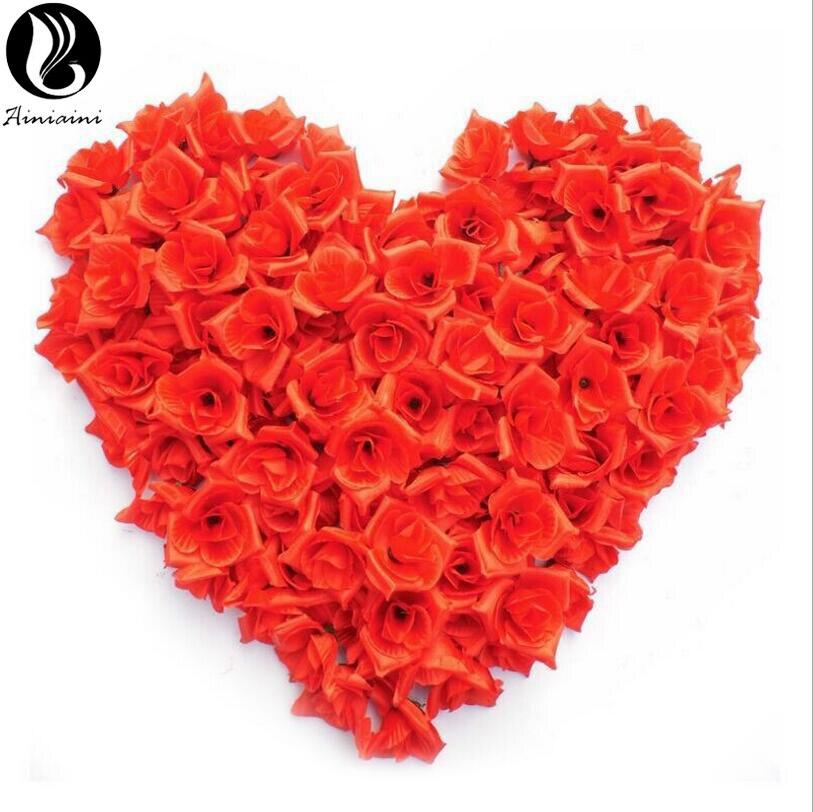 Rose Petals For Wedding Artificial Red Rose Flower Wedding Accessories Wedding Petals Petalos De Rosa De Boda BV269