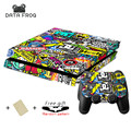 New Custom STICKERBOMB Skin Sticker For Sony PS4 Playstation 4 Console & 2 Controller Skins