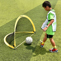 free shipping football goal portable foldable goal stable M L