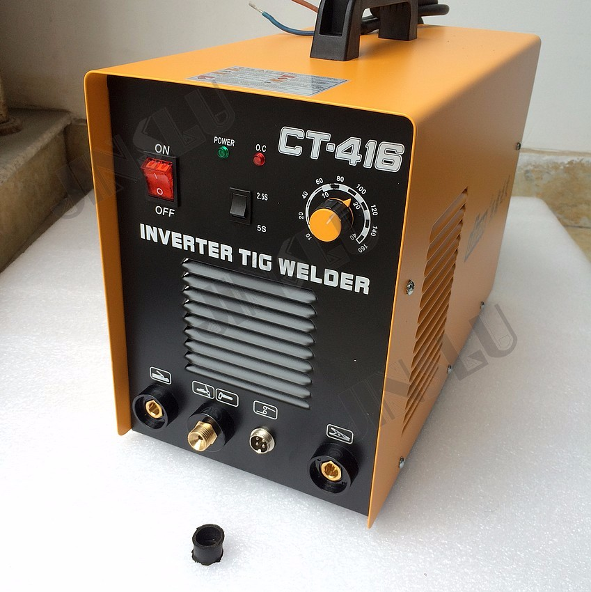 High quality 3 in 1 welding machine with MMA TIG CUT functions CT416 CT-416 include accessories