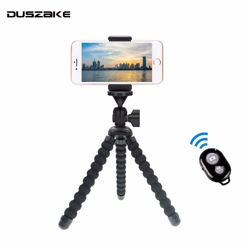 Duszake P11 Smartphone Mini Stativ Für Mobiltelefon Leicht Flexible Stativ für Iphone Gorillapod Stativ für Handy Stehen