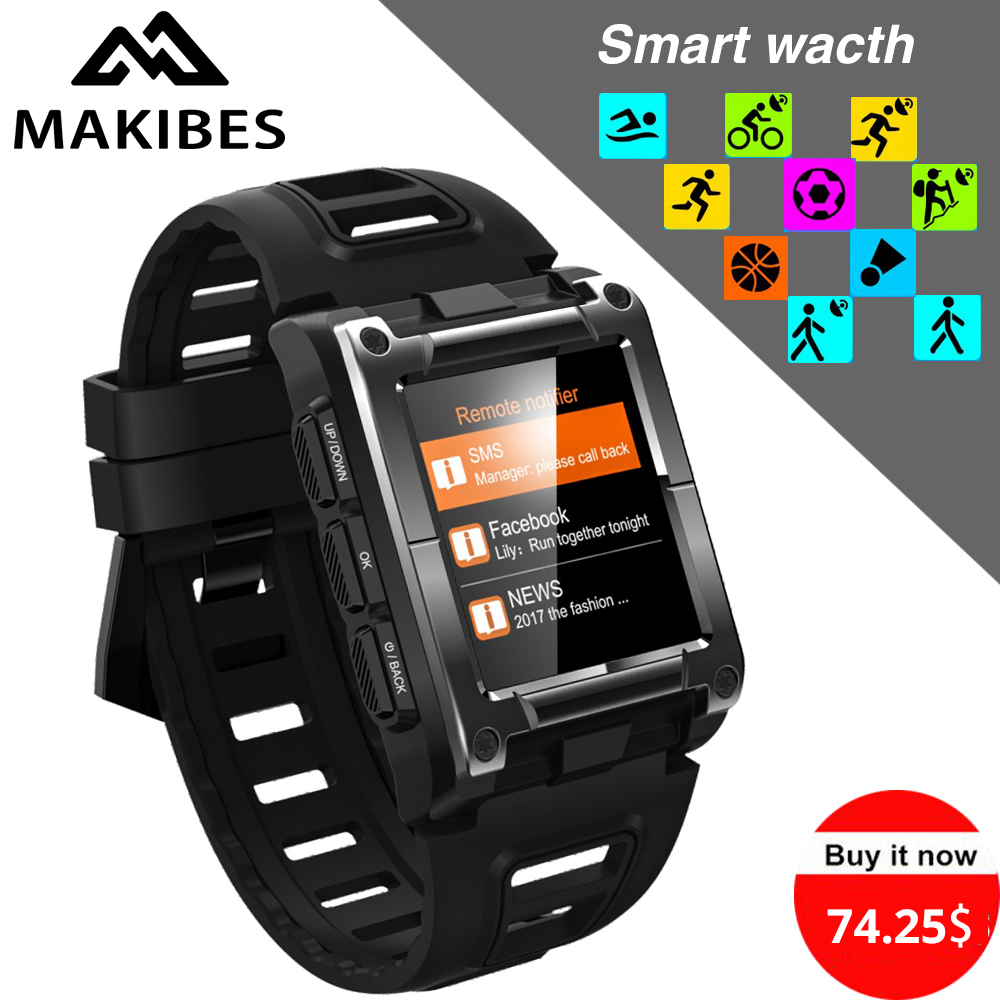 Бесплатная доставка G08 gps часы компас наручные часы Bluetooth IP68 Водонепроницаемый сердечного ритма мужчины мульти-Спорт Смарт часы Фитнес трек