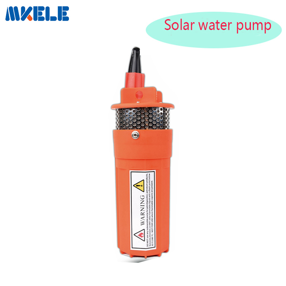 New Listing DC24V Submersible Water Pump 360LPH 70M Lift Small Power Solar For Outdoor Garden Deep The mkbp g750 24 24v 750gph bilge pump small dc submersible water pump for fountain garden irrigation swimming pool cleaning farming