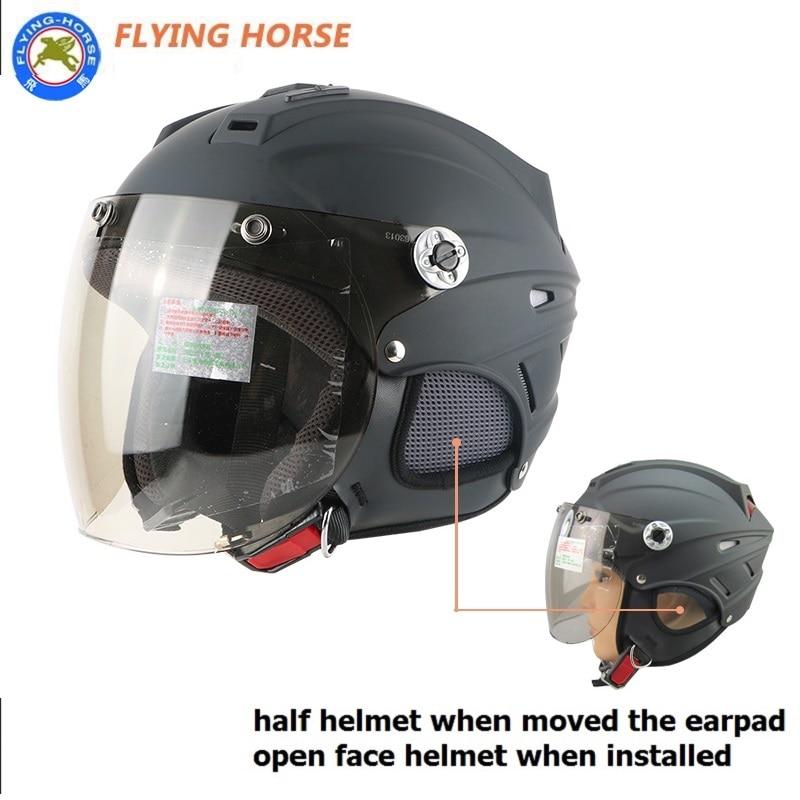 Free shipping, half motorcycle motorcross Casco Capacete helmet, Jet Vintage retro helmet, open face helmet, Protective Gear
