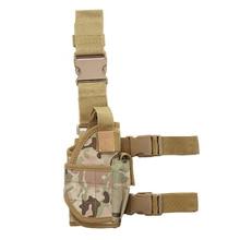 Tornado Nylon Gun Case Tactical Drop Leg Pistol Bag Hunting Airsoft Gun Military Thigh Holster Pouch Glock 17 Beretta M9 Holster