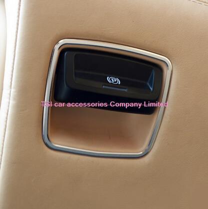 Electrónica del automóvil del freno de mano decorativo círculo brillante refit i