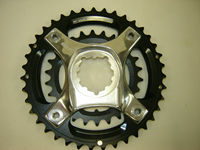 Truvativ GXP 39/26t Chainrings bcd 104mm Mountain Bike X0 Spider&2x10 Black