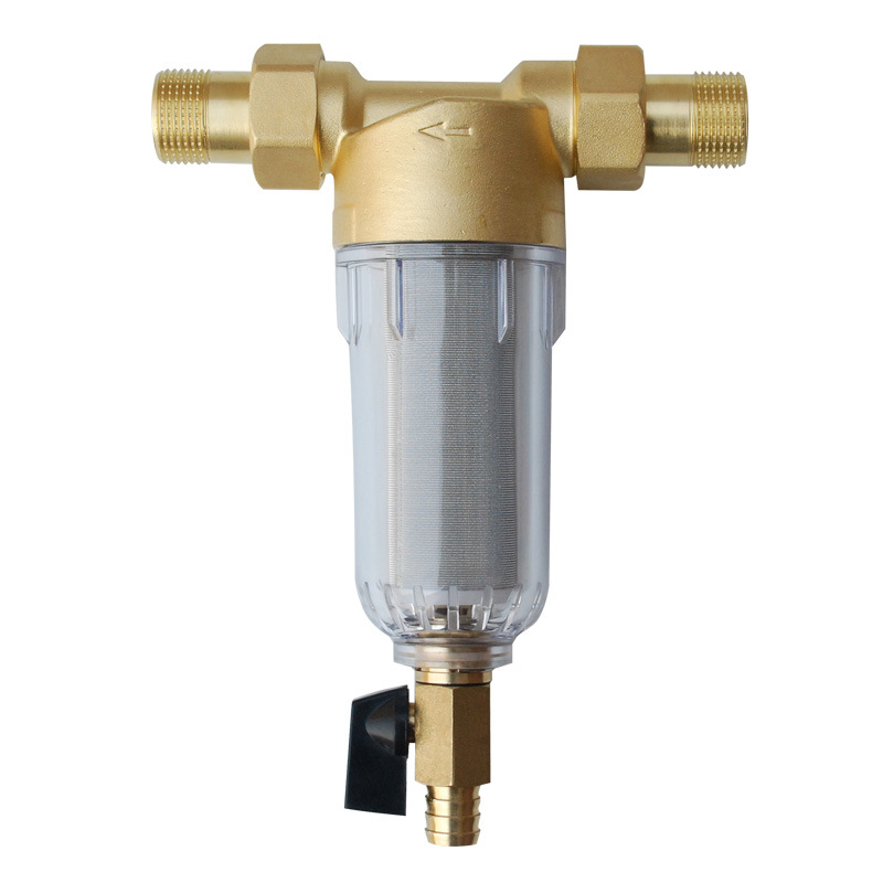 Front Purifier 1 3 4 1 2 Copper Lead Pre filter Backwash 3000L Per Hour Stainless