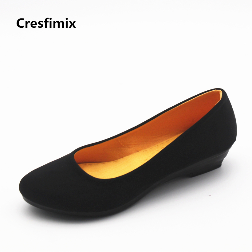 Cresfimix Femmes Appartements Women Cute Spring & Summer Slip On Flat Shoes Lady Casual Comfortable Shoes Female Cool Shoes A301