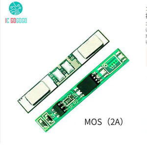 18650 Battery-Protection-Board Lithium-Polymer-Battery Discharge MOS 2A Protect-Circuit-Module