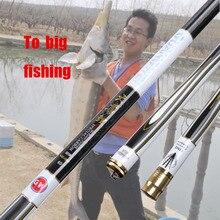 Get 29 KG Big Fishing High Carbon Taiwan Telescopic  Fishing Rod  Power Hand Pole Ultra-light Super-hard Fishing Tackle