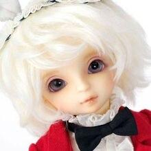 Bjd volks oueneifs biały królik 1/6 bjd sd lalki modelu reborn dziewczyny boys toys makijaż oczu wysokiej jakości sklep z żywicy