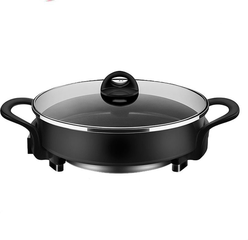 Hot Plates Multi-function electric hot pot cooker cooking household small 220v household electric pot convenient electric cooker 1l capacity electric skillet multi function steam stew kitchen tool