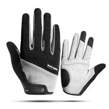 Велосипедные перчатки с сенсорным экраном на весь палец, велосипедные перчатки, мужские спортивные велосипедные противоскользящие дышащие мотоциклетные MTB дорожные противоударные
