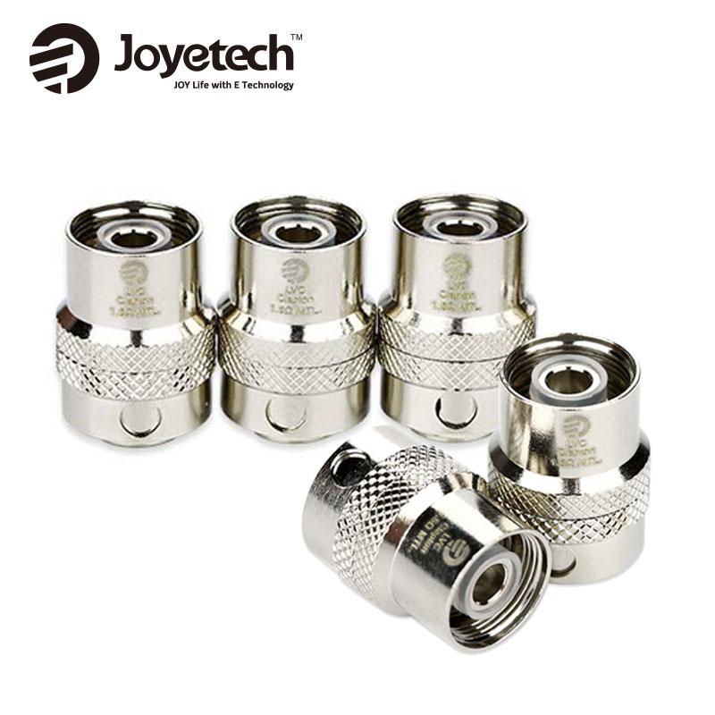 Original 5 unids/lote Joyetech Cubis Pro EGO AIO LVC Clapton MTL cabeza 1.5ohm bobina resistencia LVC Clapton bobina cigarrillo electrónico