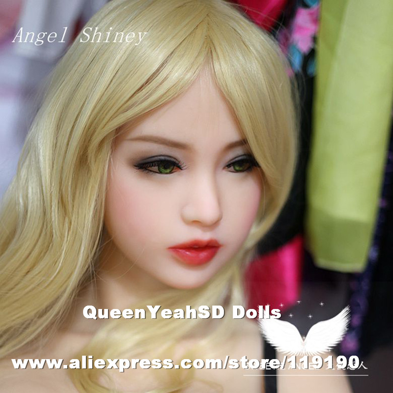 #20 Top quality head for solid silicone sex doll, japanese-realistic-dolls, love doll heads, life size sex toy